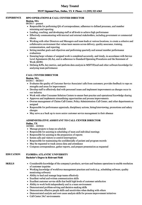 cover letter for call center operations manager 28