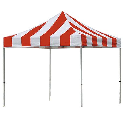 carnival instant canopy redwhite