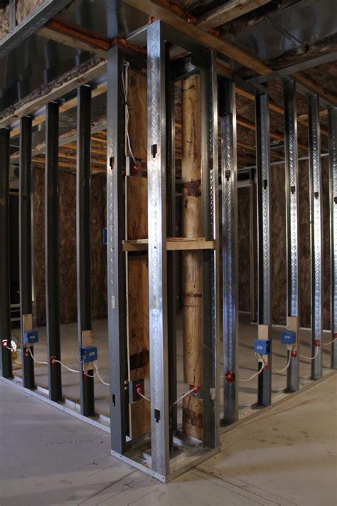 Basement Framing Metal Studs  Basement Gallery