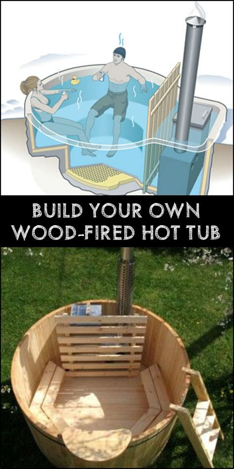 Build Your Own Hot Tub  Diy For All  Udendørs