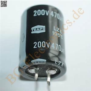 Schaltkreise Berechnen : 3 x 470 f 470uf 200v 105 snap in rm10 elko kondensator capa teapo e cap 3pcs ebay ~ Themetempest.com Abrechnung