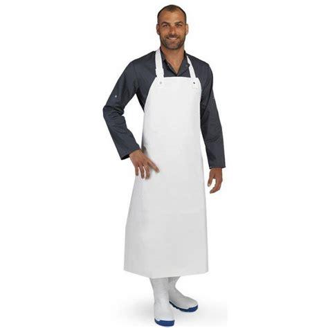 tablier de protection en pvc de cuisine professionnel