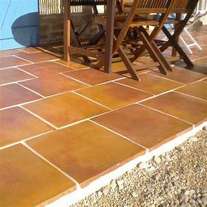 dalle terre cuite 40x40x23cm idb pierdor With dalle terre cuite exterieur