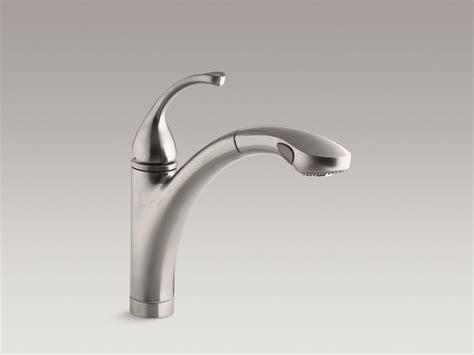 kohler forte pull out kitchen faucet standard plumbing supply product kohler k 10433 vs fort 233 single handle kitchen faucet with 10