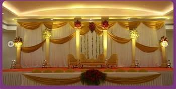 indian wedding decorations a wedding planner indian wedding and reception stage decorations