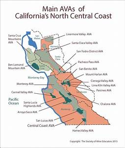 Wine Regions of Californias North Central Coast #wine # ...