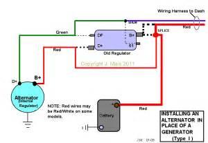 vw alternator conversion wiring diagram vw image converting generator to alternator wiring diagram converting on vw alternator conversion wiring diagram