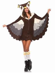 Adult Cozy Owl Costume 85500 Fancy Dress Ball