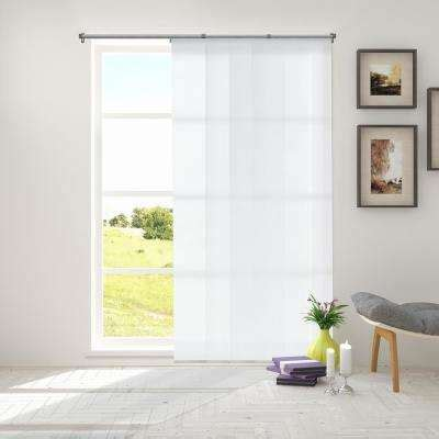 curtains for vertical blind track white panel track blinds blinds the home depot 8524
