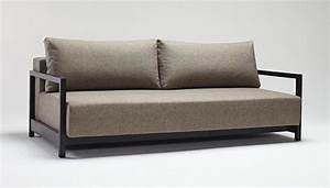 Innovation bifrost sleek excess lounger sofa bed sofa for Sleek sofa bed