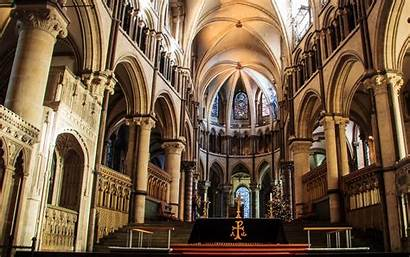 Cathedral Canterbury Wallpapers Religious Background Abyss Desktop