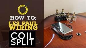 Les Paul Coil Split Wiring