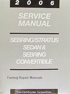 motor auto repair manual 2006 chrysler sebring electronic throttle control 2006 chrysler sebring dodge stratus factory service manual original shop repair factory repair