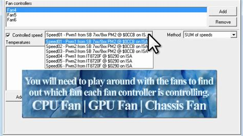 fan control windows 10 control fan speeds with speedfan tutorial youtube