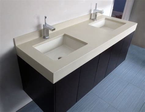 floating vanity  vanity set    concrete