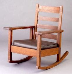 Stickley Rocking Chair Value by Furniture Chair Rocking Arts Crafts Stickley Brothers