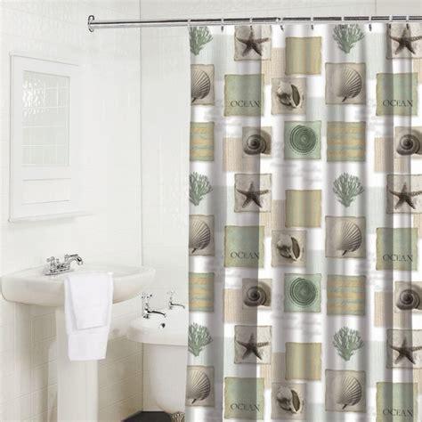 coastal shower curtains shower curtains seaside fa123456fa