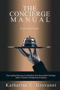 The Concierge Manual - 5th Edition