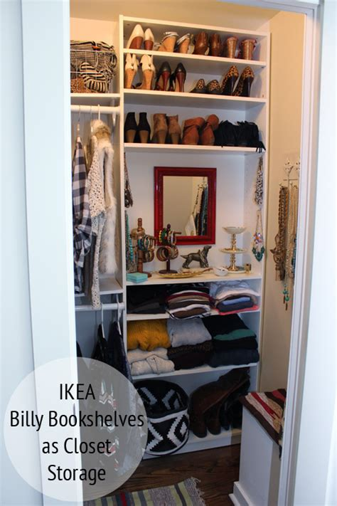 Billy Bookcase Closet Organizer his and hers closets thewhitebuffalostylingco