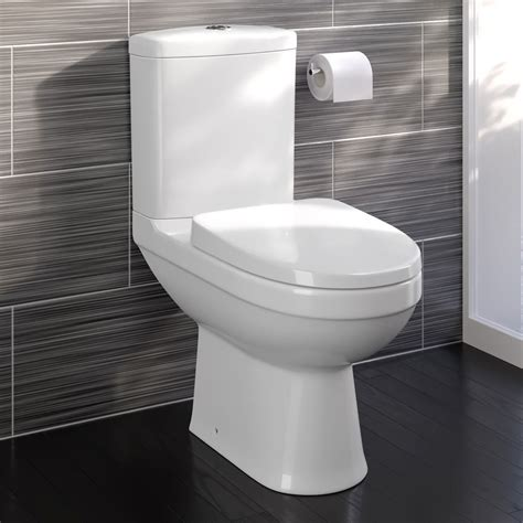 toilet seat modern white ceramic coupled toilet bathroom pan