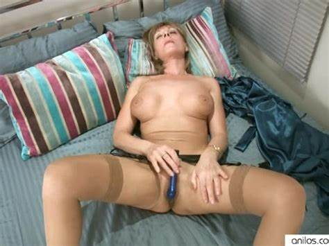 Black Slender Uses Her Hitachi For An Intense Cum Swallow
