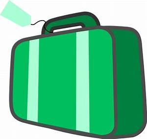 Suitcase Clip Art at Clker.com - vector clip art online ...
