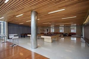 Deck Ceiling Lighting Salem State University Forms Surfaces