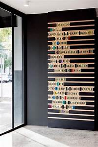 We want to adapt this restaurant-menu idea to make a wall