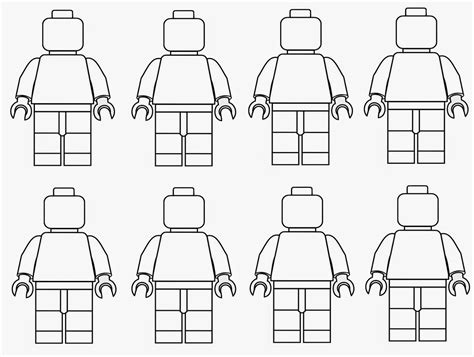 Colouring In Sheets Lego Man Coloring The Art Jinni