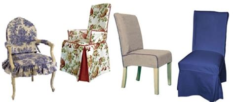 Types Of Chair Covers by Custom Chair Slipcovers