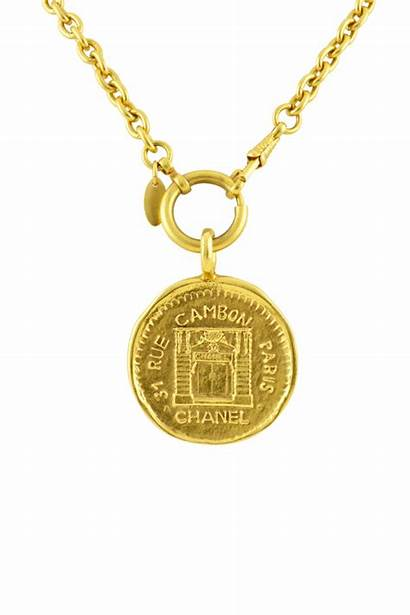 Medallion Chain Chanel Cambon Link Graphic Short