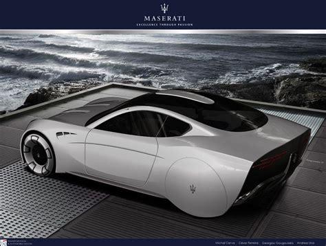 future maserati maserati granturismo 2020 concept car body design