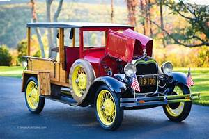 1929 Ford Model A Huckster Frame Off Restored Ready To