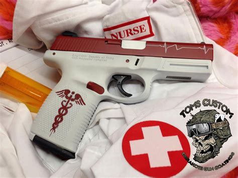 nurse gun archives toms custom guns