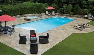 Est ce que la piscine rectangulaire est la forme la plus commune ? Piscines et Jacuzzi