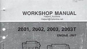 Volvo Penta 2001  2002  2003  2003t Engine Service Manual