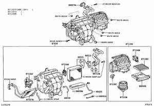 2005 Toyota Camry A  C Evaporator Drain  Unit  Cooler  Hose