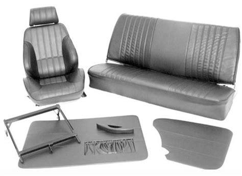 Vw Upholstery Kits by Procar Rally Vw Interior Kit For Karmann Ghia Sedan