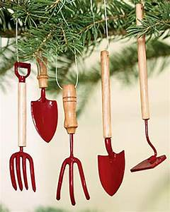 Garden Tool Christmas Tree Ornaments