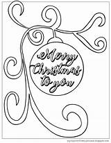 Christmas Coloring Pages Husband Merry Cup Overflows Birthday Ornament Happy Template sketch template