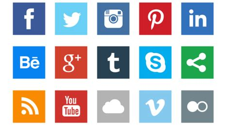 Free Social Media Icons 12 Free Social Media Icon Sets And Icon Fonts For Apps And