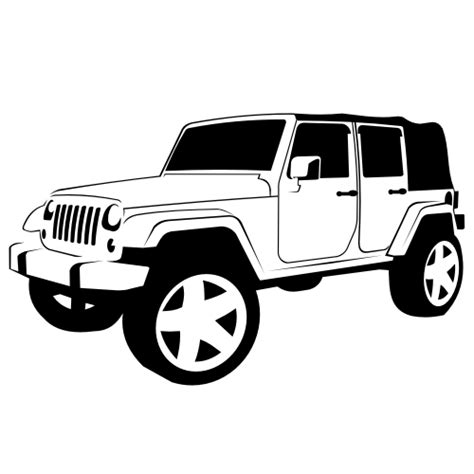 jeep wrangler logo vector vector for free use jeep wrangler