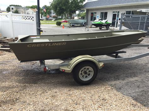 Jon Boats For Sale Used by 2015 Used Crestliner Cr 1448m Jon Boat For Sale 2 199