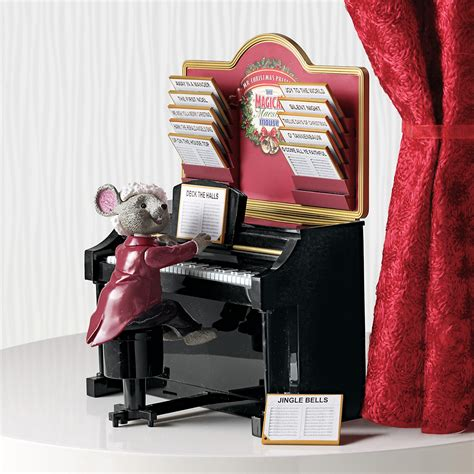 mr christmas animated magical maestro mouse gump s