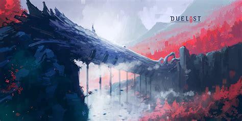 Digital 2d Artwork Duelyst Digital Art Video Games