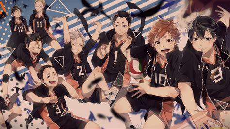 wallpaper haikyuu hinata shouyou kageyama tobio