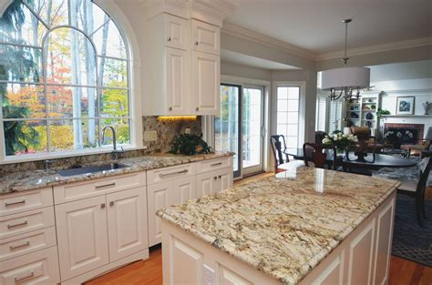 Kitchen And Granite by Traditional Style Kitchen With Granite Countertops And A