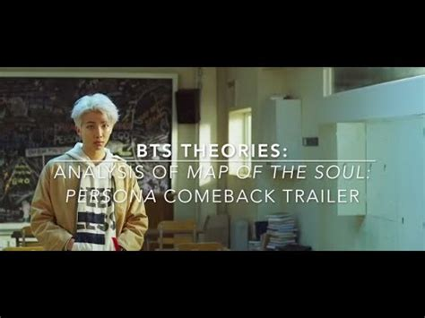 bts theories analysis  map   soul persona