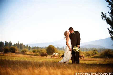 outdoor wedding location  central oregon  black butte