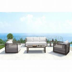 zuo coronado sunproof fabric aluminiumn outdoor sofa with With coronado outdoor sectional sofa black